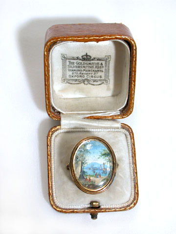 A Ring with a View - Georgian Portrait Miniature
