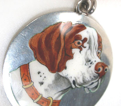 Dog Days - Silver Pendant