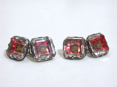 Superior Stuart Crystal Cufflinks