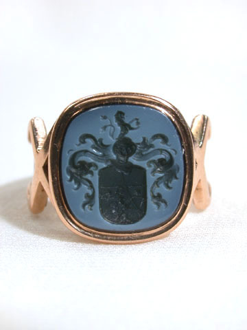 Lion's Share: Intaglio Ring c. 1900