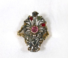 Georgian Mid 18th Century Giardinetti Ring