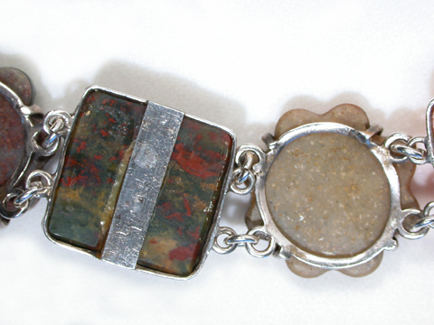 Victorian Scottish Agate Bracelet