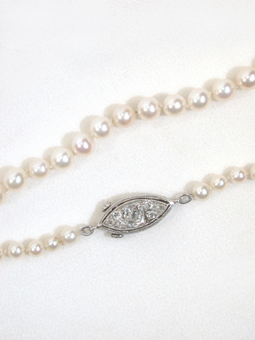 Indulgent Saltwater Natural Pearl Necklace
