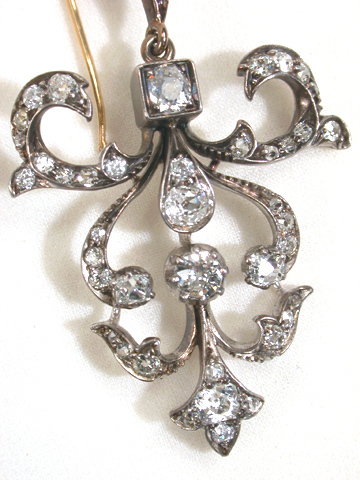 Victorian Antique Diamond Earrings