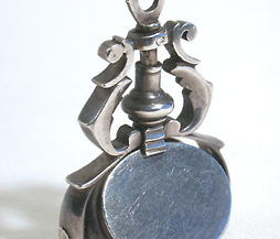 Georgian Silver Three Sided Fob