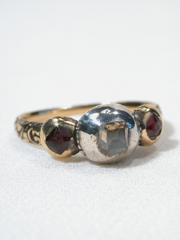 17th Century Ring with Diamond