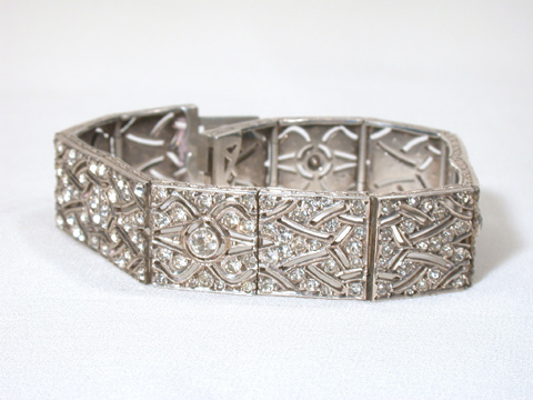 Faux 'n Fab: French Art Deco Paste Bracelet