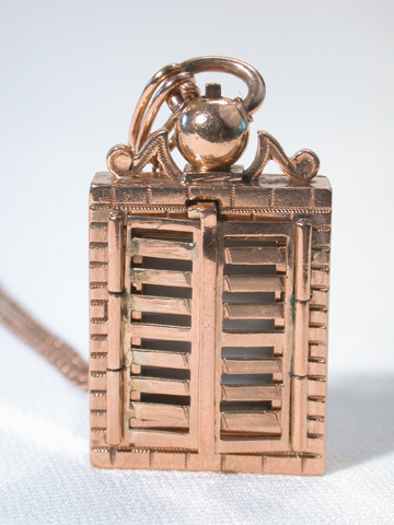 Doorway to the Past - Locket Pendant