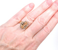 Victorian Topaz & Diamond Ring