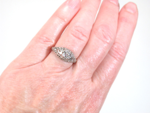 Antique Edwardian Diamond Engagement Ring
