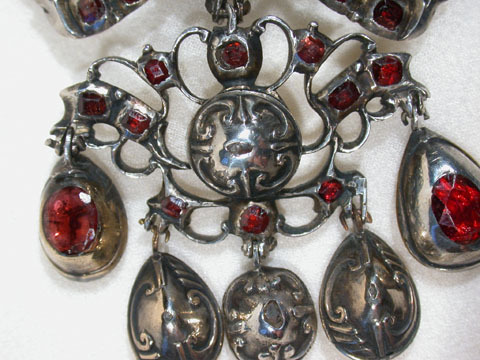 Late 17th C. Diamond & Garnet Pendant