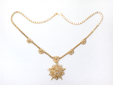 Heaven on Earth - Moon & Stars Necklace