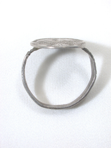 A Moment in History - Anglo Saxon Silver Ring