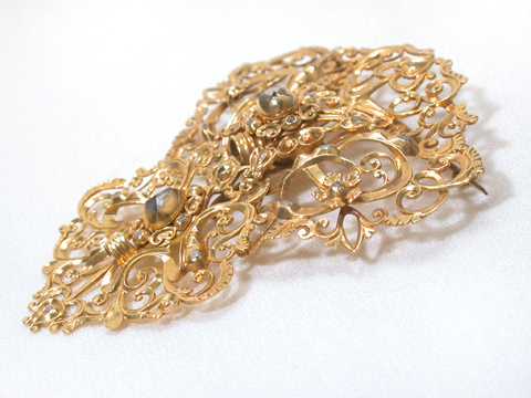Early 18th C. Portuguese Diamond Brooch