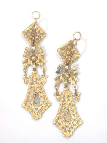 Through the Looking Glass Spanish Earrings