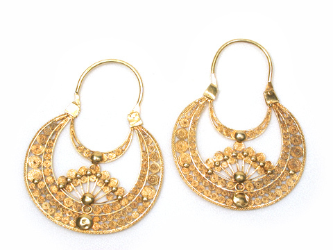 Gold & Light - Iberian Hoop Earrings