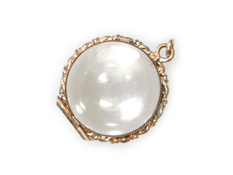 No Secrets: Edwardian Rock Crystal Locket