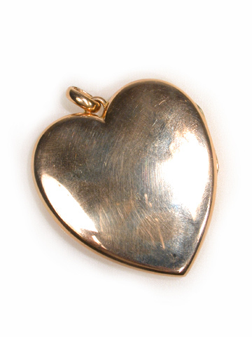 Grand Victorian Rose Gold Heart Pendant Locket