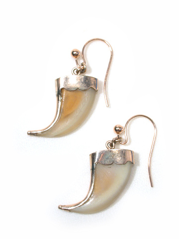 Rage of the Raj Tiger Claw Earrings