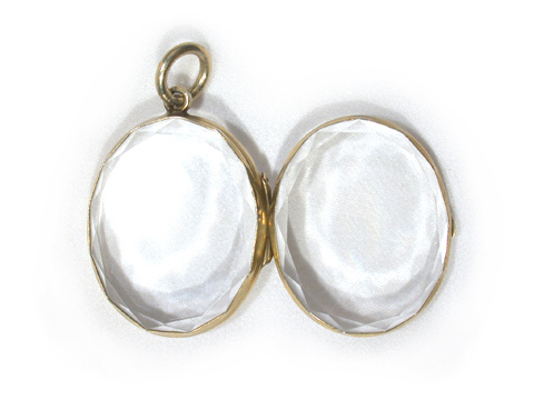 Clear as Glass: 19th Century Locket