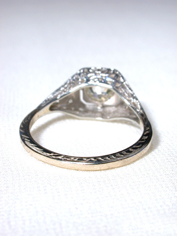 Brilliance Squared -  Old European Diamond Ring