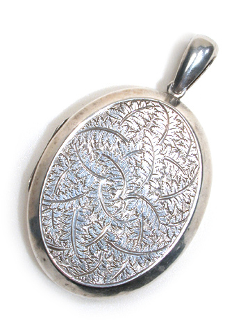 Sincerity in a Victorian Oval Locket