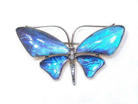 Art Deco Butterfly Brooch