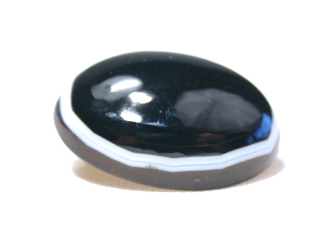 Victorian Eye Agate Oval Brooch