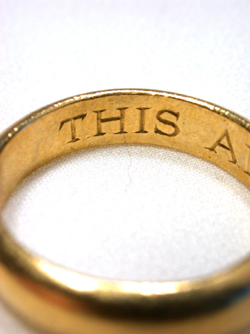 Antique Poesy Ring - This and My Heart C. 1700