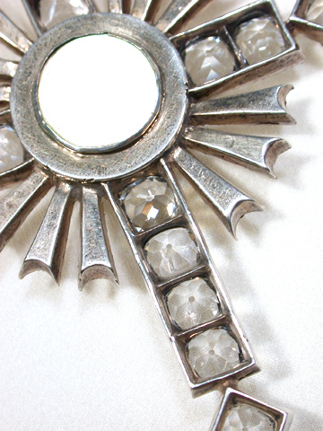 Magnificent & Rare: Symbolic Paste Cross Pendant