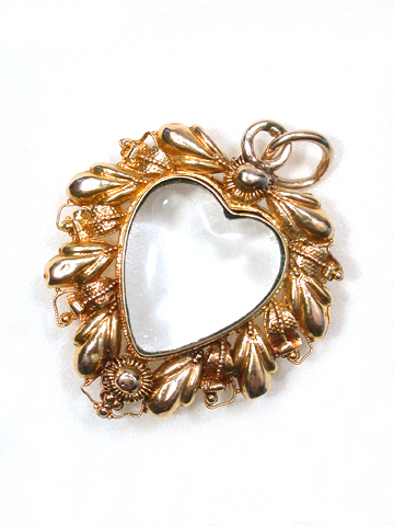My Heart Be Still: Early Victorian Fancy Locket