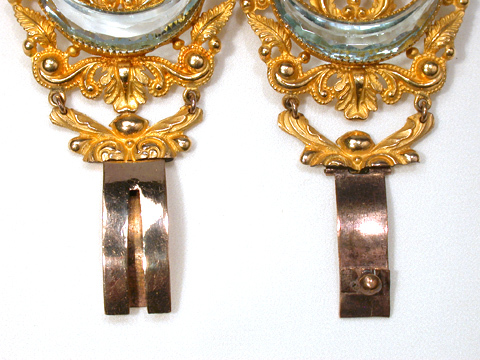 Magnificent Georgian Pinchbeck Pair of Bracelets