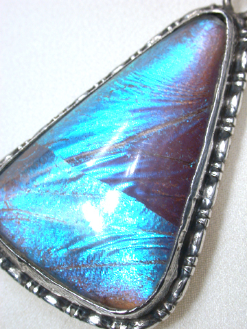 Art Deco Butterfly Pendant