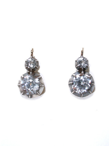 Icicles in Summer - Double Drop Earrings
