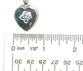 Circa 1920 Heart Locket Pendant