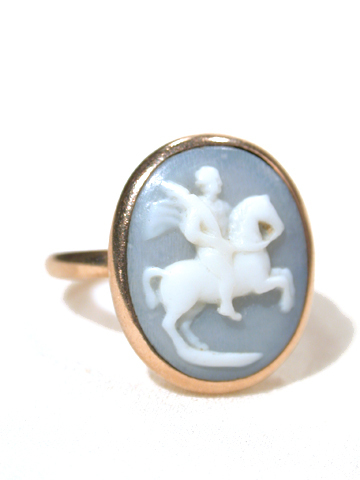 Antique Georgian Cameo Ring