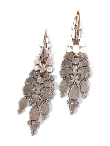 Evocative Antique Diamond Earrings