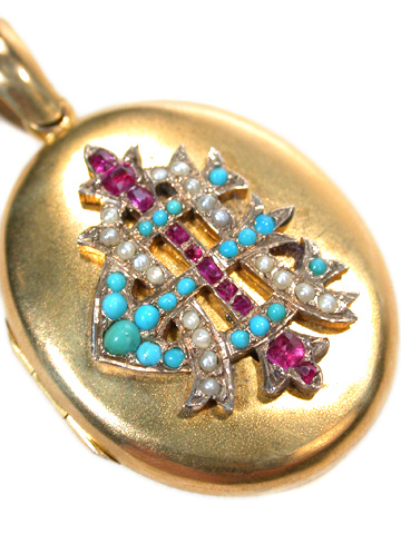 Now & Forever: Victorian Gem AEI Locket