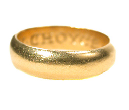 Antique Poesy Rings For Sale