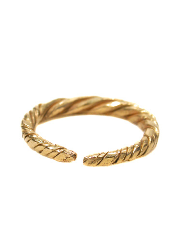 Scarce 9th Century Viking Ring of Gold
