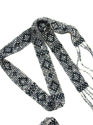Jazz Era - Beaded Art Deco Sautoir
