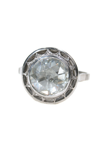 The Supreme Illusion - Rose Cut Diamond Ring