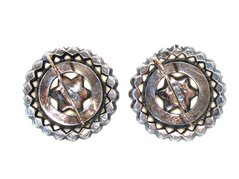 Rings of Lights - Georgian Button Earrings