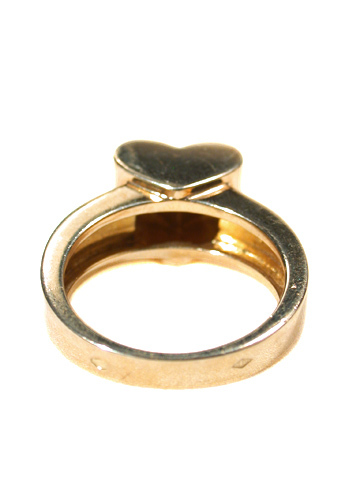 Gold Van Cleef & Arpels VCA Heart Ring