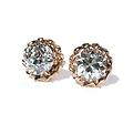 Glitterati - Diamond  Solitaire Earrings 1.4 C