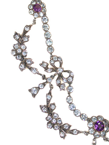 Edwardian Festival: Festoon Necklace in Paste