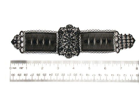 Very Rare Georgian Berlin Iron Wirework Bracelet