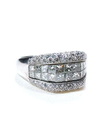 Italian Moderne: Diamond Ring
