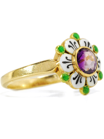 Scarce Early 20th C. Suffragette Ring