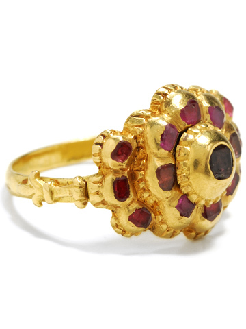 Spanish Treasure: Early Ruby Ring